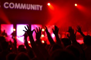 Love one another and be in community